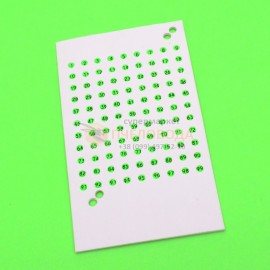Набор зеленых опалитовых меток