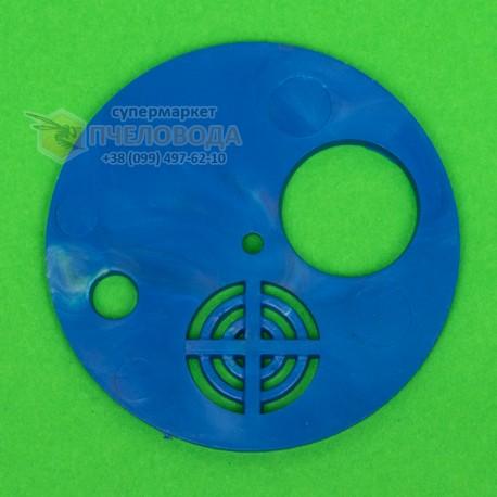Летковый заградитель круглый (пластик). Ø 85 мм (фото 1)